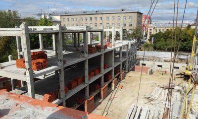 Строительство комплекса зданий управления Сибирского округа войск национальной гвардии
