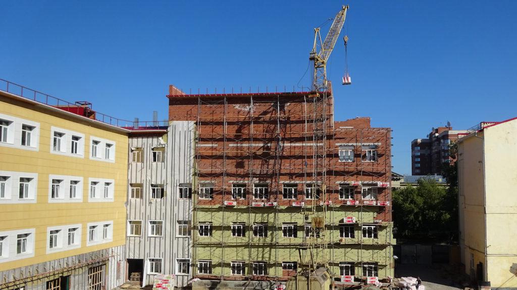 Строительство специальных зданий и сооружений