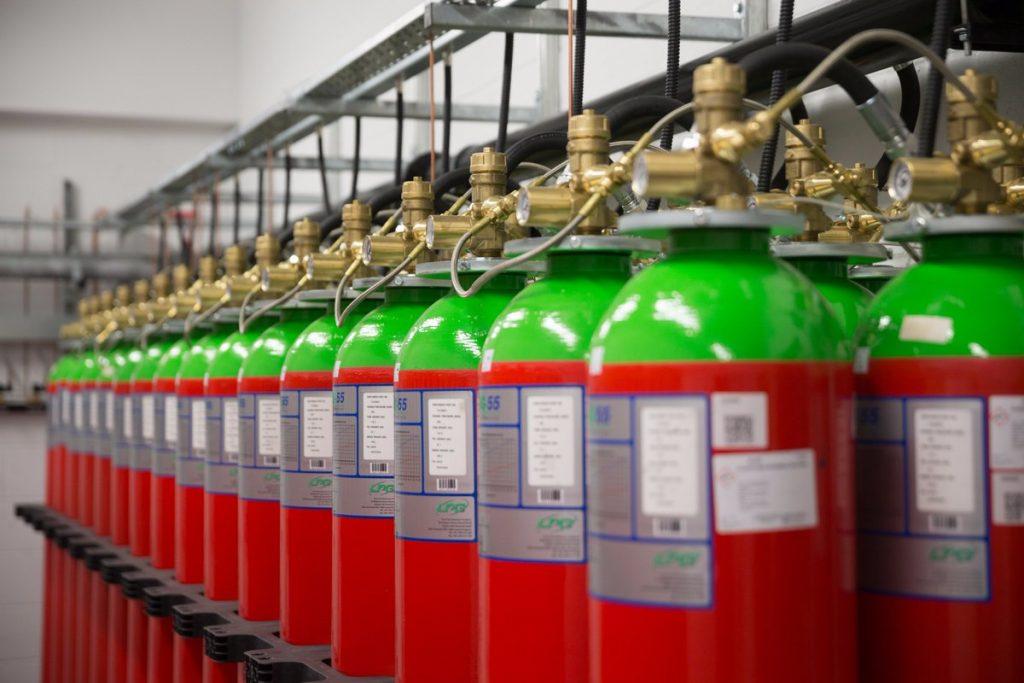 Автоматические системы пожаротушения установка