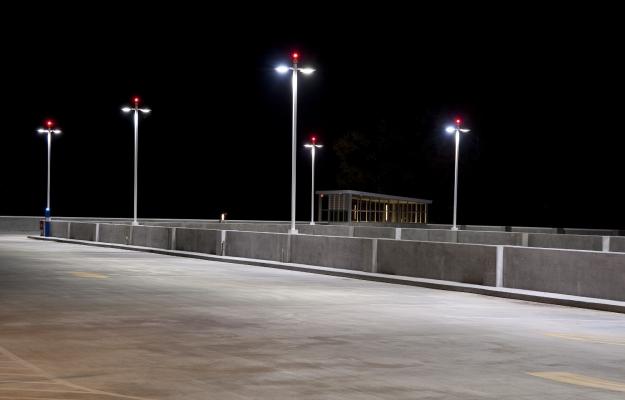 установка охранного и аварийного освещения