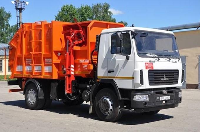 Перемещение твердых коммунальных отходов (ТКО)