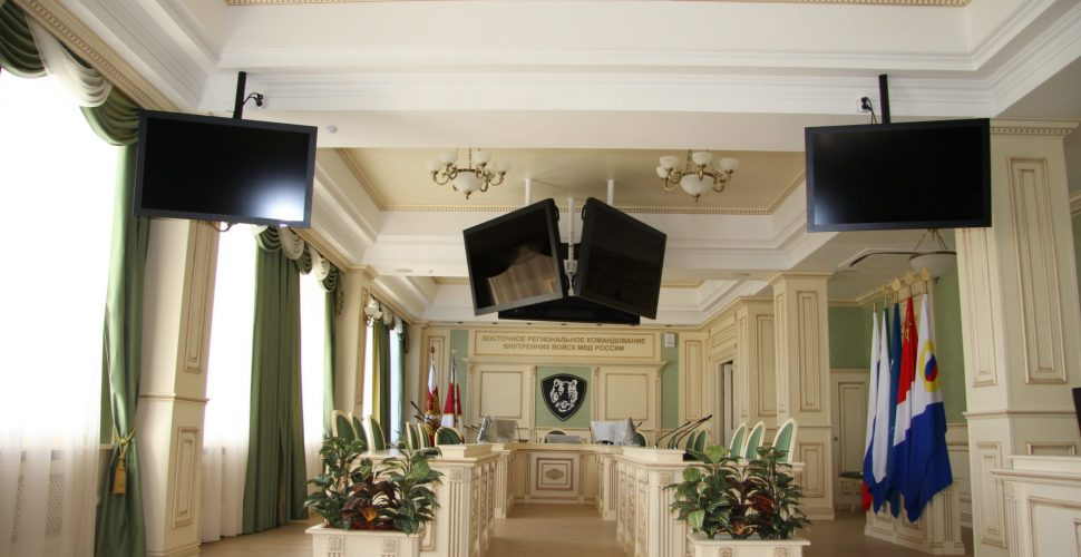 Реконструкция зданий Управления ВРК ВВ МВД России