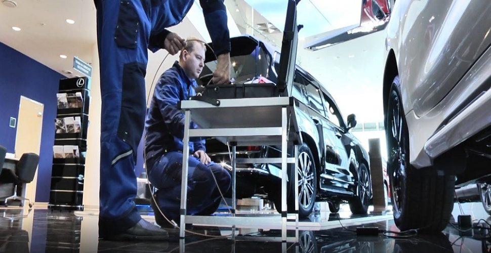 Поиск закладочных устройств в автомобиле