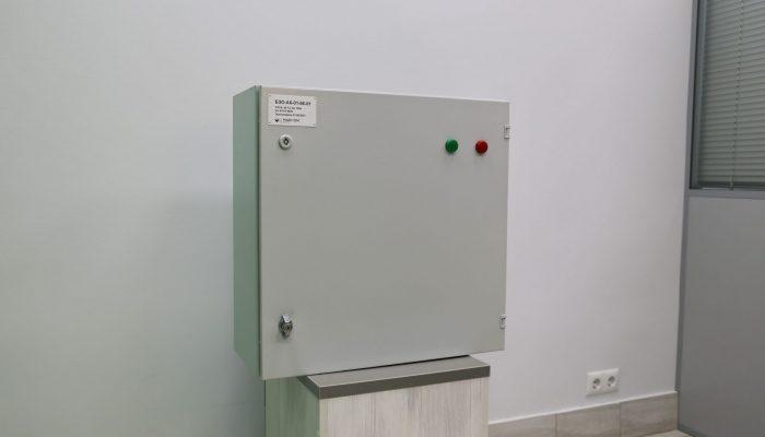 Блок запуска оповещения в модификации АК